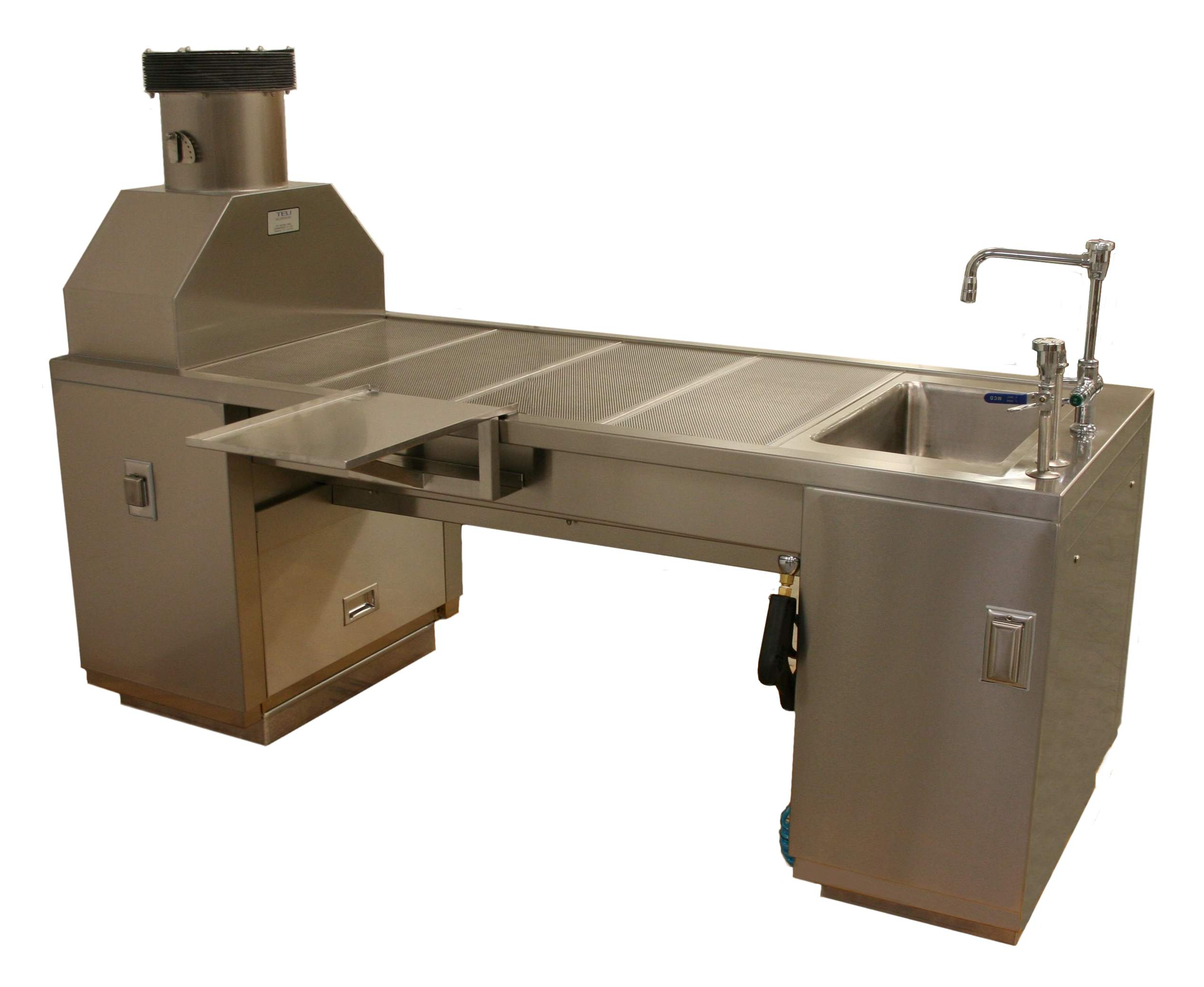 30-72-S AH 2 Downdraft Table